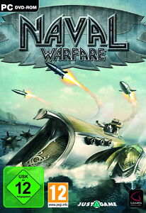 Justagame-Naval-Warfare-PC-2011-DVD-Box-neu-u-ovp-PC