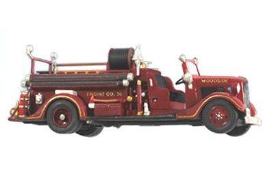 Hallmark 2012 1936 Ford Fire Engine Fire Brigade Series Ornament