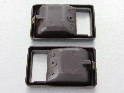 83-88 Toyota Hilux LN50 LN56 LN60 4th gen Pair inner door handle cup bezel brown