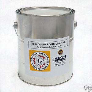 HERCO-Neoprene-Rubber-Koi-Fish-Pond-Coating-amp-Sealer-1-Gallon