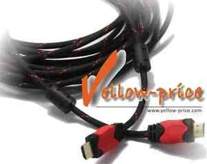 30FT-Premium-High-Speed-GOLD-HDMI-Cable-V1-4-Nylon-net-ferrite-cores-9-2M