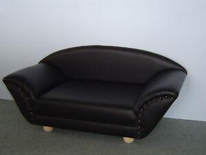 micky hundesofa hundebett hundecouch katzensofa bett kunstleder ebay. Black Bedroom Furniture Sets. Home Design Ideas