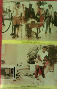 Bill-Cosby-Richard-Prior-Neil-Simons-CALIFORNIA-SUITE-1978-Original-lobby-cards