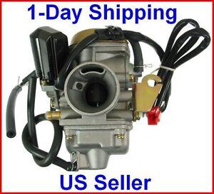 Carburetor-150cc-Scooter-Roketa-SUNL-Go-Kart-FREE-Filter-GY6-GY-6-Carb-150-PD24