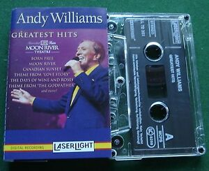 Andy-Williams-Greatest-Hits-Live-From-Moon-River-Theatre-Cassette-Tape-TESTED
