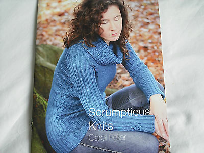 "Fyberspates ""Scrumptious Knits"" by Carol Feller Knitting Pattern Book"