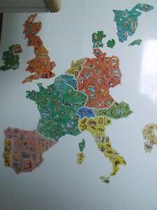 Magnets-Carte-d-d-039-Europe-Le-Gaulois-10-aux-choix