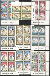 Mongolia 1991 Birds/Eagle/Raptors/Nature/Wildlife/StampEx 9v Questa blks n34363