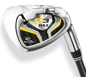 COBRA-S3-MAX-IRON-SET-4-PW-GW-STEEL-STIFF-FLEX-NEW