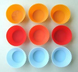 9-pcs-Round-shape-silicone-muffin-cup-cake-jelly-baking-mold-7cm