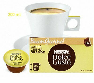 Nescafe Dolce Gusto Coffee Pods x64 - for Nescafe Krups Machines 4 Boxes