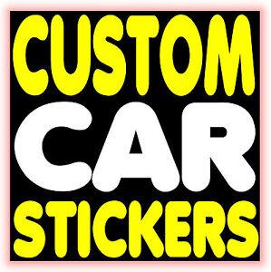 PERSONALISED-CUSTOM-CAR-STICKERS-Vinyl-Graphics-Decals-Car-Bumper-Stickers-Mod