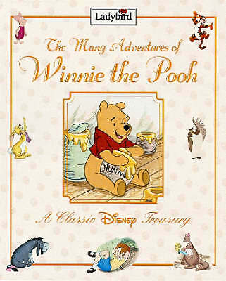 """""""AS NEW"""" The Many Adventures Of Winnie The Pooh :, Ladybird, Book"""
