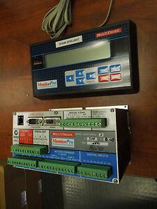 multitrode monitorpro 3 remote station supervisor w digital control keypad ebay. Black Bedroom Furniture Sets. Home Design Ideas