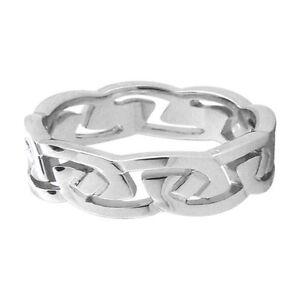 Stainless-Steel-Celtic-Broken-Chain-Ring-SZ-7