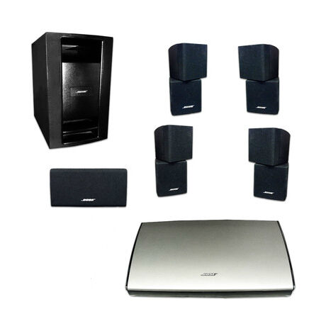bose lifestyle t20 5 1 channel home theater system ebay. Black Bedroom Furniture Sets. Home Design Ideas