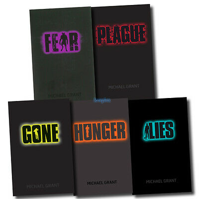 Gone series Michael Grant Collection 5 Books Set Pack Hunger, Lies, Plague, Fear