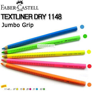 Faber-Castell-Textliner-Dry-1148-Highlighting-Pencils-ANY-5-PENCILS