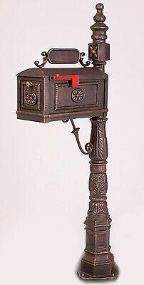 Better Box Mailboxes - BRONZE - Classic Decorative Cast Aluminum Mail Box BB-R
