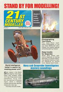 SCI-FI-Fantasy-21st-Century-Modeller-Gerry-Anderson-UFO-Space-1999-Stingray