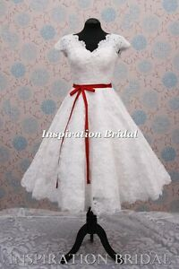 wedding-dress-bridal-1950s-short-style-vintage-1960-50s
