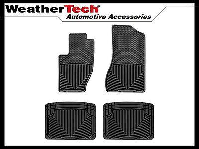 WeatherTech All-Weather Floor Mats - Jeep Grand Cherokee - 2005-2010 - Black