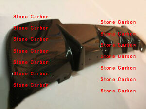 carbon fiber rear bumper diffuser lip spoiler for. Black Bedroom Furniture Sets. Home Design Ideas