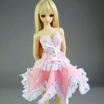 [wamami]105# Lace Pink Dress/Outfit 1/3 SD DZ LUTS AOD BJD Dollfie