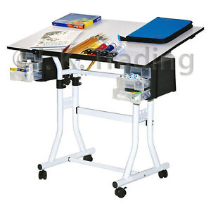 Image Is Loading Drafting Table Drawing Table Hobby Art Drawers Adjustable