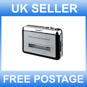 PORTABLE-TAPE-TO-DIGITAL-PC-USB-AUDIO-PLAYER-CONVERTER-CASETTE-TO-MP3-CAPTURE