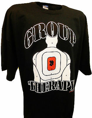 Group Therapy Pro Guns Firearms Ak47 M16 Ruger Colt Military 2nd Amendment Tee