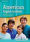 American English in Mind Level 4 Teacher's Edition by Jeff Stranks, Herbert Puchta, Peter Lewis-Jones (Spiral bound, 2012)