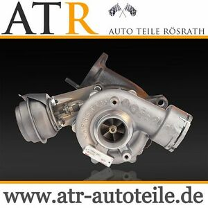 Turbocharger-BMW-320d-E46-KW-110-2-0L-Diesel-Garrett-GT1749V