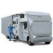 RV-Class-C-Motorhome-Camper-Cover-20-039-21-039-22-039-23-039-in-length-Zippered-Door