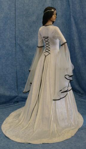 Renaissance Handfasting medieval wedding dress LOTR costume
