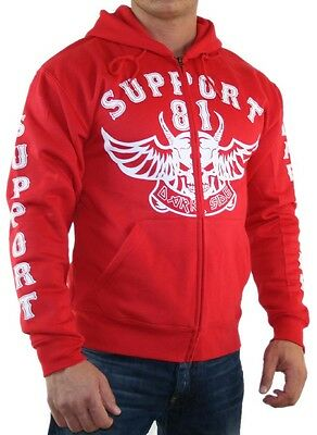 1194 Support 81 Dark Side Sweatjacke Jacke Hells Angels