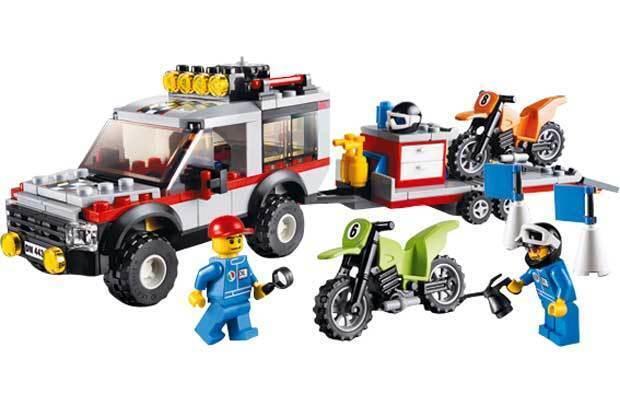 LEGO CITY TRASPORTATORE MOTO DA CROSS (4433)
