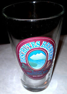 Deschutes-Brewery-Bend-Oregon-Traditional-Ales-glass-highly-Collectible-rare-new