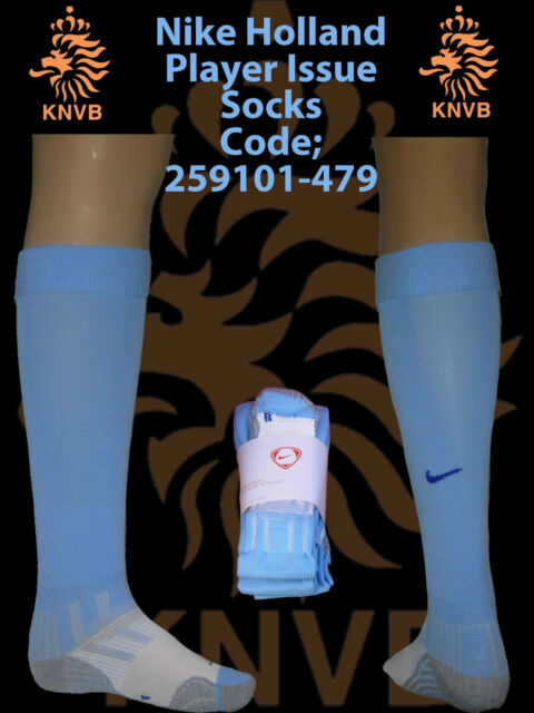 Holland Player Issue Away Football Socks UK 7.5-11.5 Euro42-47(259101-479)