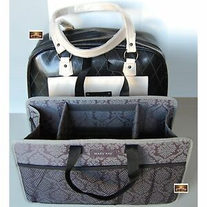 MARY-KAY-Consultant-Kit-Bag-Great-LUXURY-LOOK-Purse-Bag-Tote-w-Insert