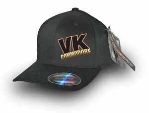 VK-COMMODORE-FLEXFIT-CAP-Black
