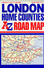 A-Z Road Map of Great Britain: London Home Counties by Geographers' A-Z Map Company (Sheet map, folded, 1983)