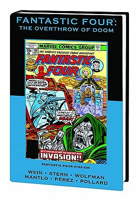 FANTATIC FOUR: OVERTHROW OF DOOM HARDCOVER HC Marvel Premiere Classic VARIANT 75