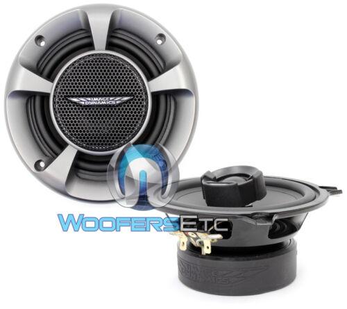 "OPEN BOX CTX5 IMAGE DYNAMICS 5.25"" CAR AUDIO 2-WAY COAXIAL SPEAKERS SILK"