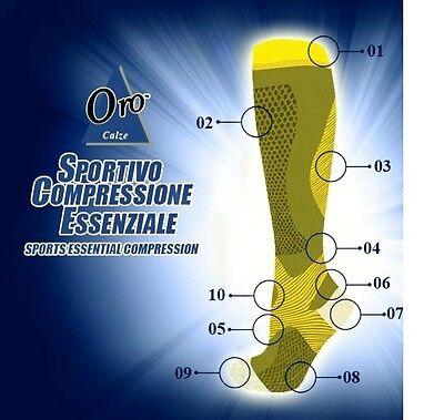 Running Bike Sports Graduated Compression Socks 20-30mmHG Men/Women Medium