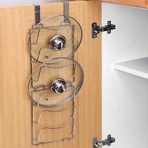 Stick On Kitchen Cabinet Organizer With Hooks