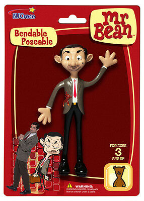 MR. BEAN Action Figure (Rare Collectible) Bendable / Poseable * DVD Series * NEW