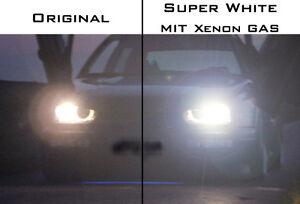 h7 xenon gas birnen lampen satz ultra blue white laser. Black Bedroom Furniture Sets. Home Design Ideas