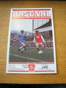 30111982 Arsenal v Huddersfield Town Football League Cup Faint Fold No ob - <span itemprop='availableAtOrFrom'>Birmingham, United Kingdom</span> - Returns accepted within 30 days after the item is delivered, if goods not as described. Buyer assumes responibilty for return proof of postage and costs. Most purchases from business s - Birmingham, United Kingdom
