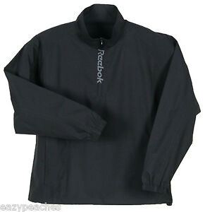 Reebok-Mens-Size-S-2X-3XL-4XL-5XL-Packable-Windshirt-JACKET-Coat-BLACK-NAVY-BLUE